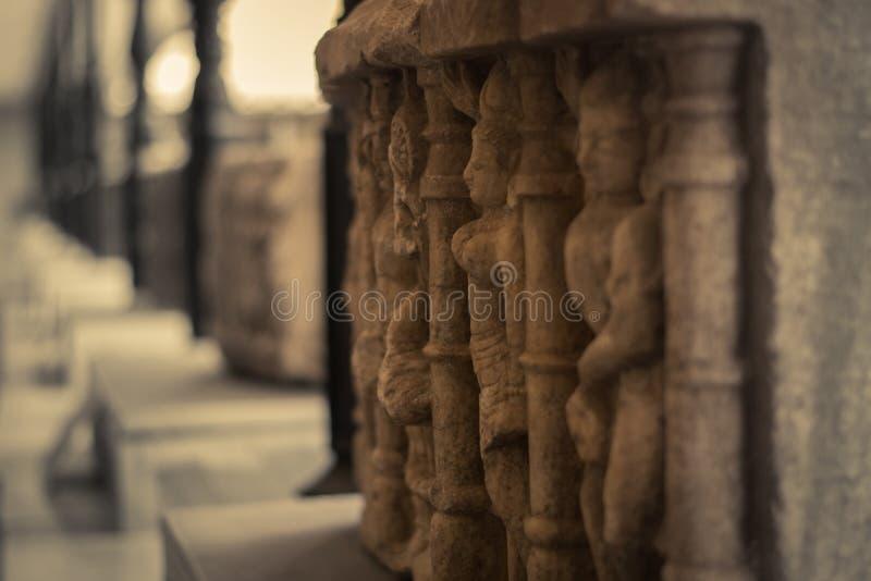 Vintage stone sculpture. royalty free stock photo