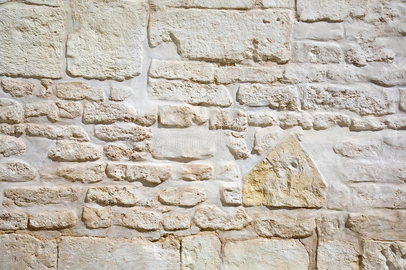 Download Vintage stone wall stock image. Image of closeup, cement - 15689875