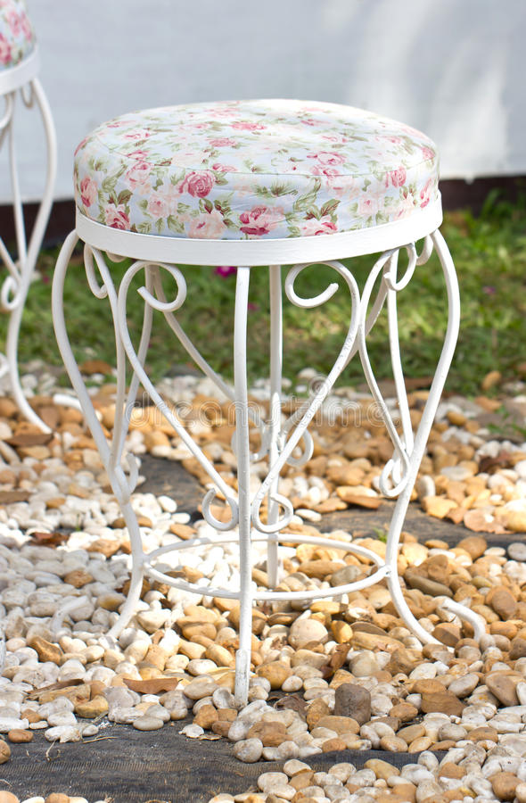Free Vintage Stool. Royalty Free Stock Photos - 37512088