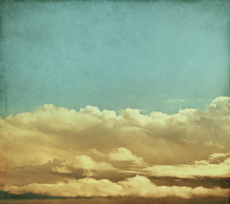 Free Vintage Storm Clouds Stock Images - 28576014
