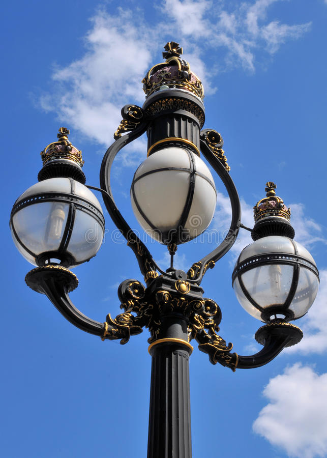 Vintage Street Lamp Royalty Free Stock Images
