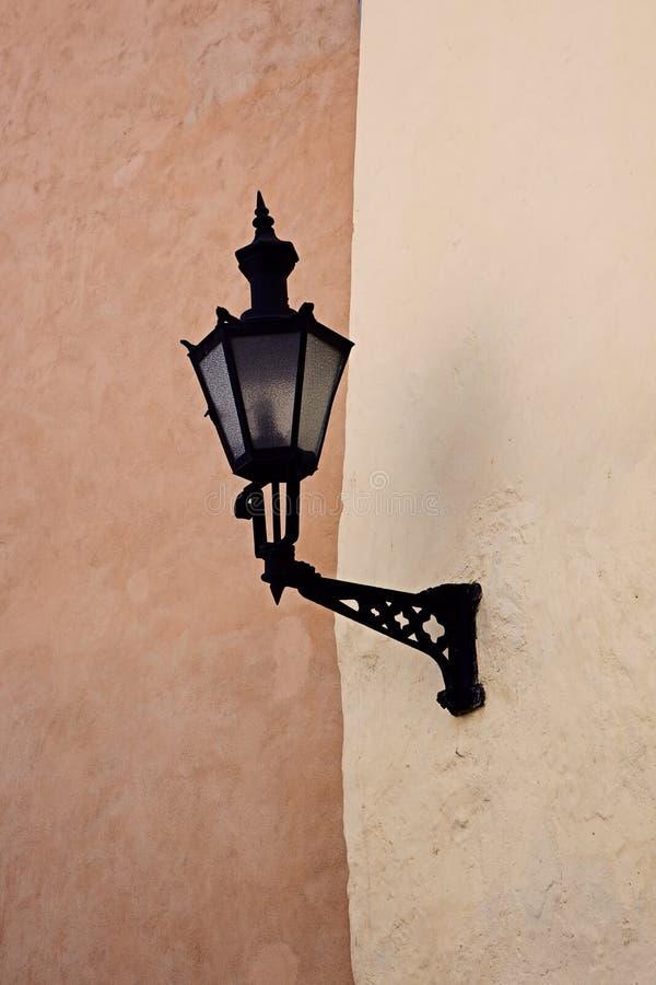 Vintage street lamp royalty free stock image