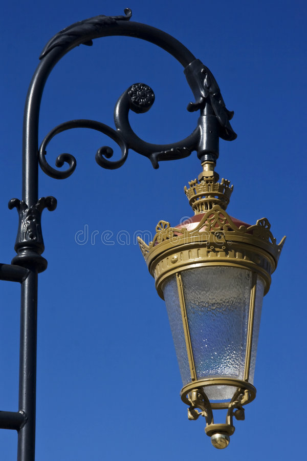 Vintage Streetlamp Stock Images