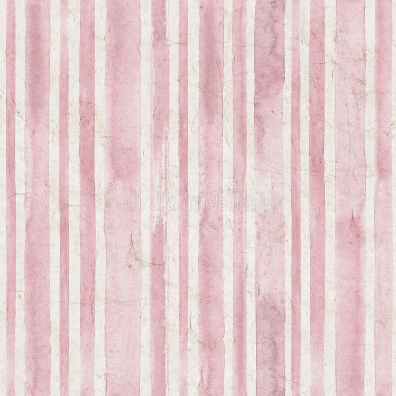 Free Vintage Stripe Background. Seamless Pattern Royalty Free Stock Photos - 110642938