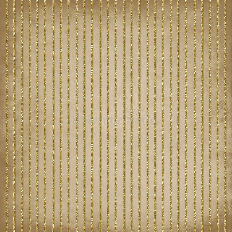 Vintage striped background vector illustration