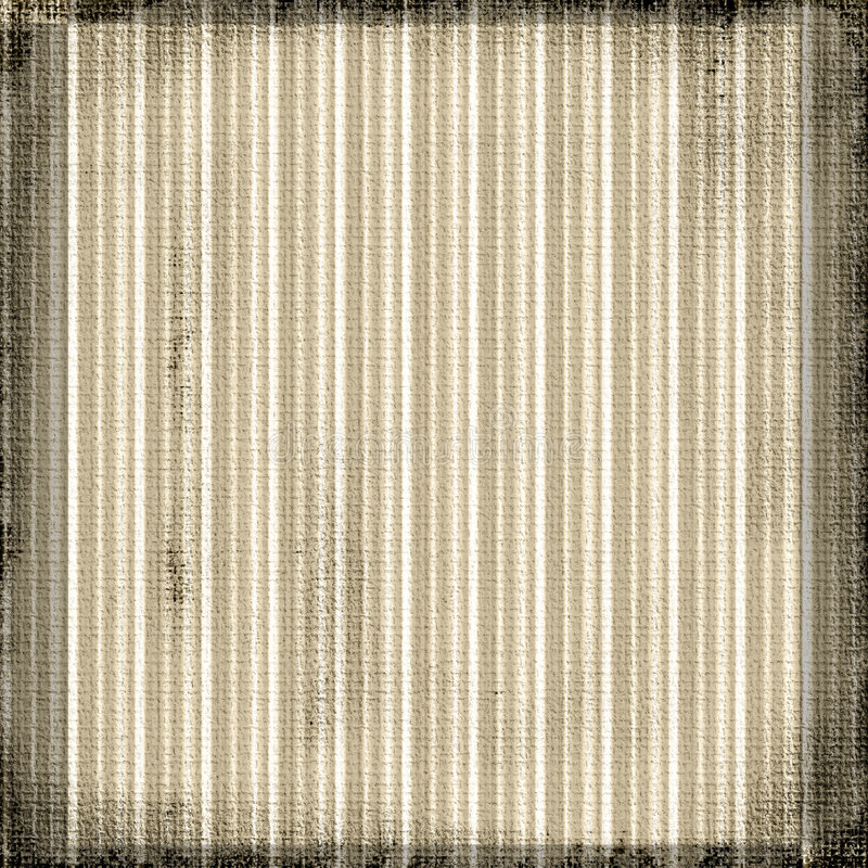Vintage Striped Grunge. Stripes in brown sepia tones on a textured canvas of burlap grunge background vector illustration