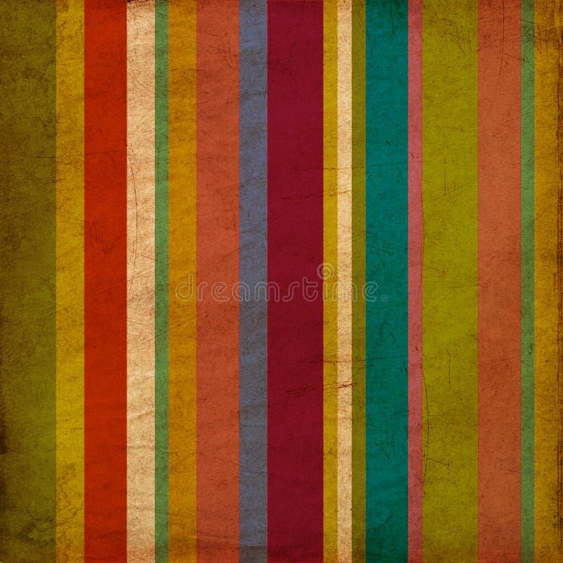 Download Vintage Striped Wallpaper Pattern Background Stock Illustration