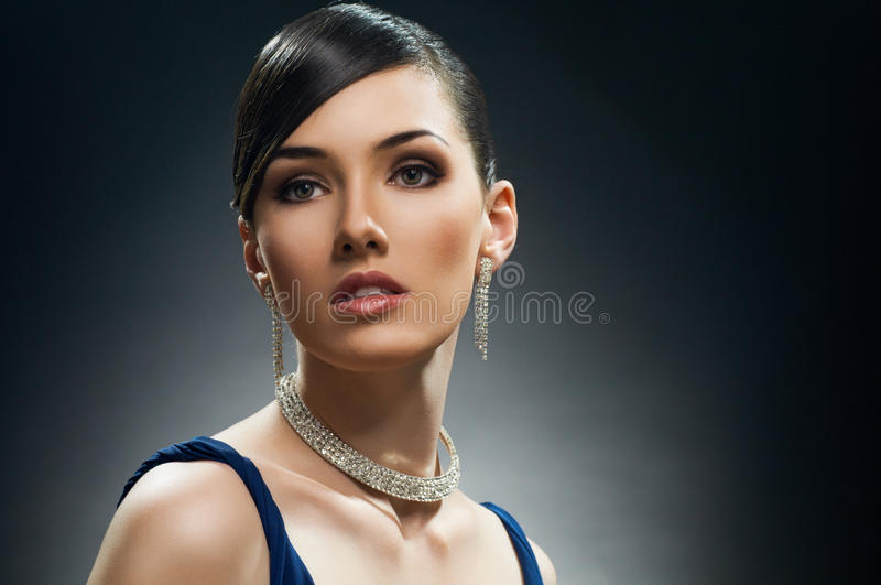 Download Vintage style stock image. Image of female, bijouterie - 22100051