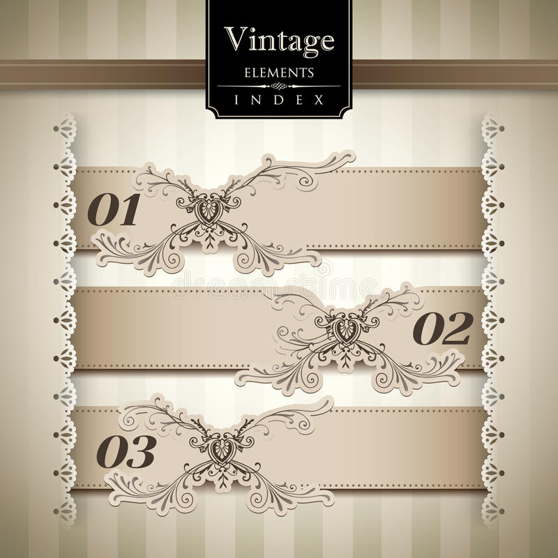 Vintage style Bar Graph stock illustration