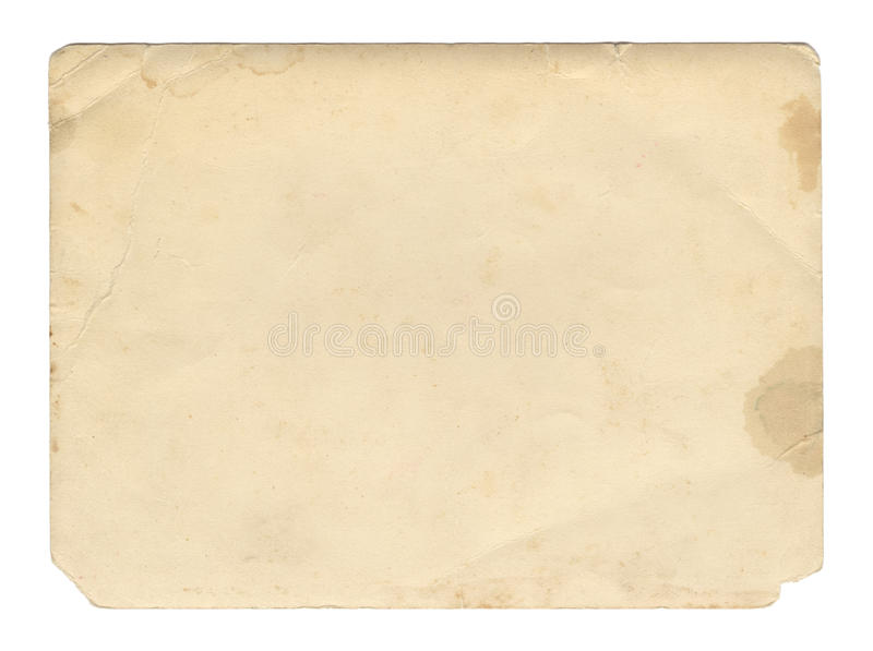 Vintage style brown old paper texture or background, with uneven torn edges stock photos