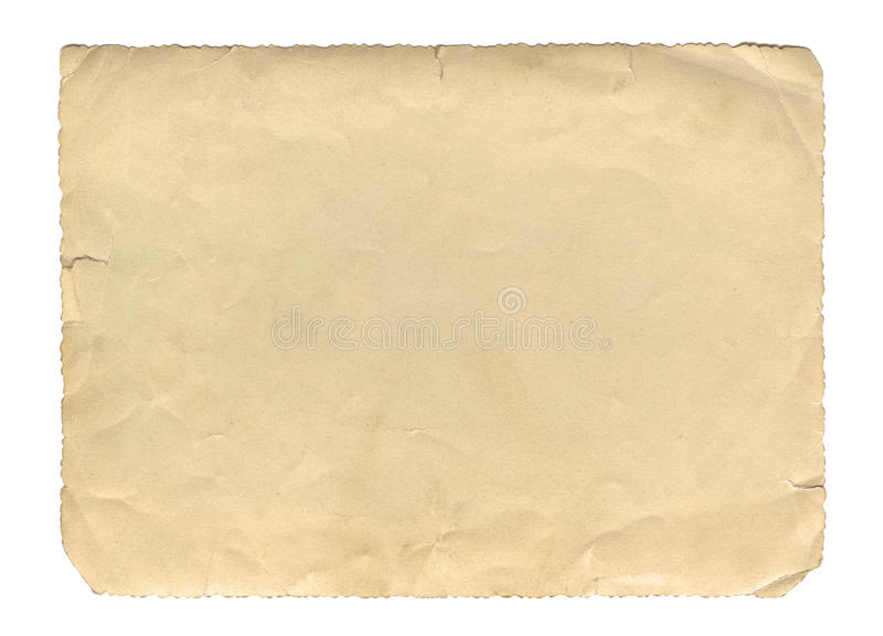 Vintage Style Brown Old Paper Texture Or Background, With
