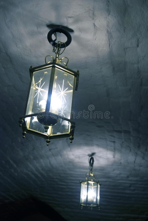 Vintage style chandeliers made of glass and metal stock photo download vintage style chandeliers made of glass and metal stock photo image of home mozeypictures Image collections