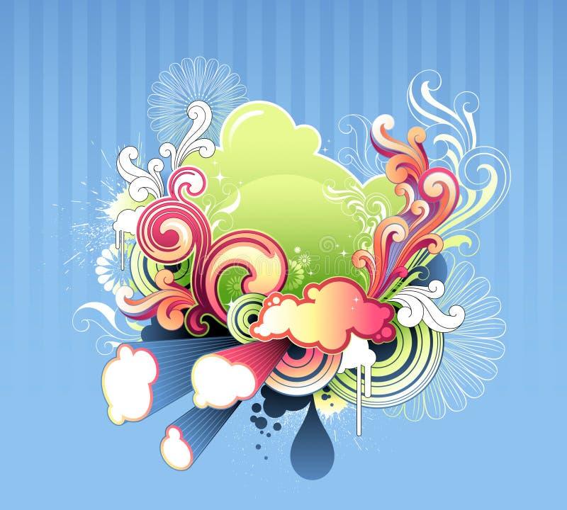 Download Vintage style illustration stock illustration. Image of design - 25392616