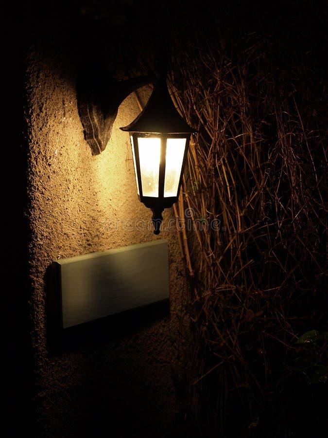 Vintage style lamp light royalty free stock photo