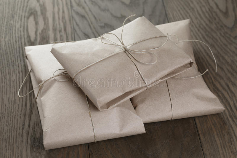 Download Vintage Style Parcels Wrapped With Rope Stock Photo - Image of post, simple: 43069252