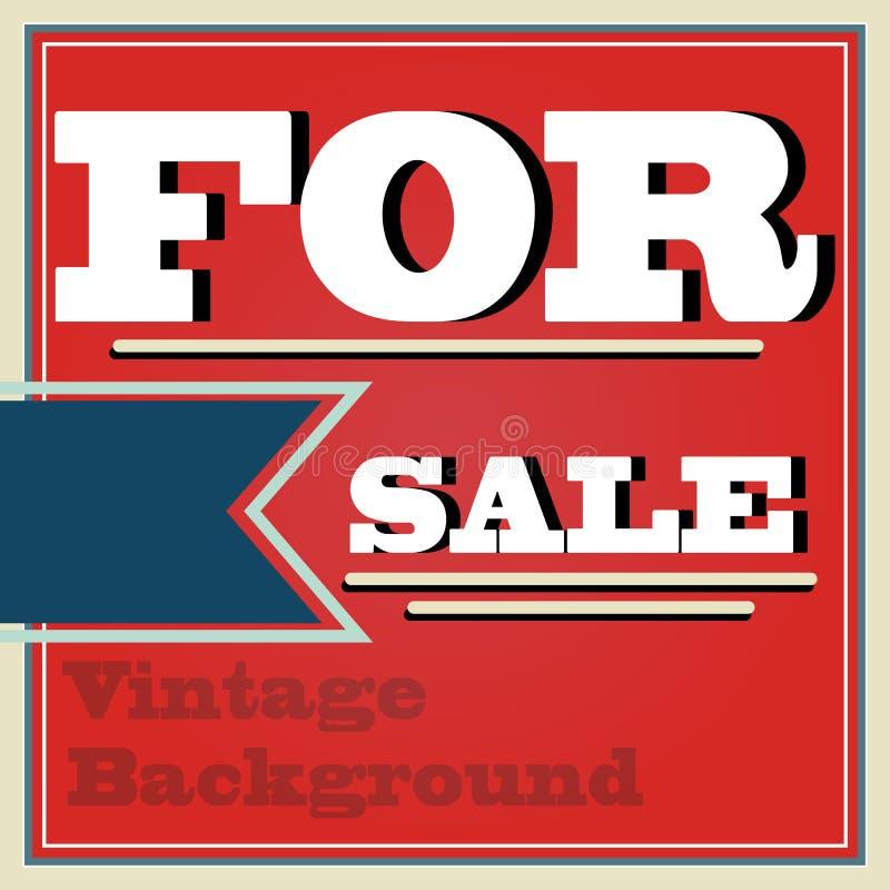 Download Vintage Style For Sale Background Illustration Stock Vector - Illustration of design, seamless: 34585493