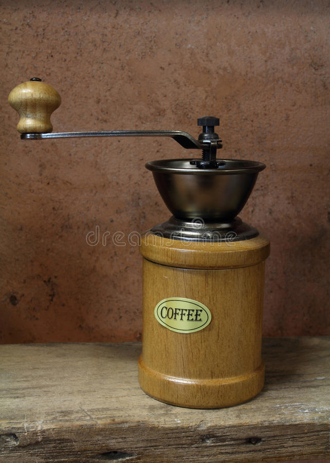 Download Vintage Styled Of Old Coffee Grinder Stock Photo - Image: 27270728