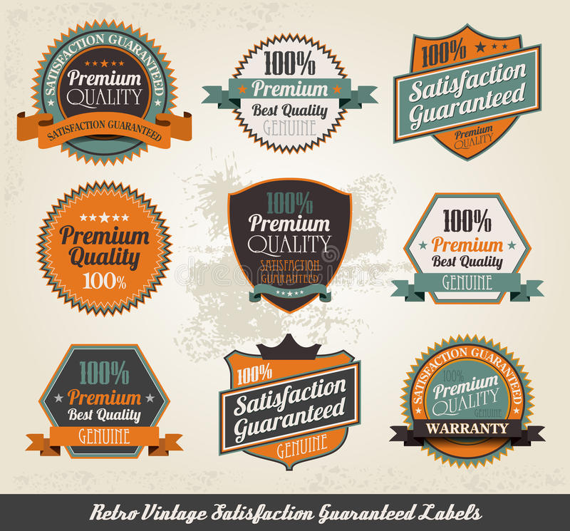 Download Vintage Styled Premium Quality Stock Vector - Image: 23368790
