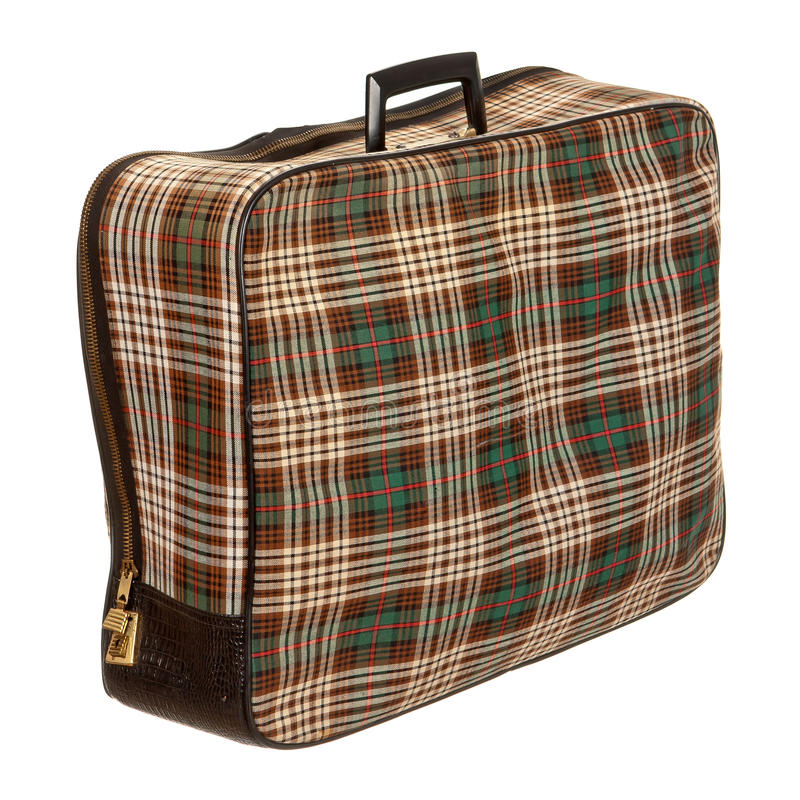 Download Vintage suit case stock image. Image of brown, revival - 25268857