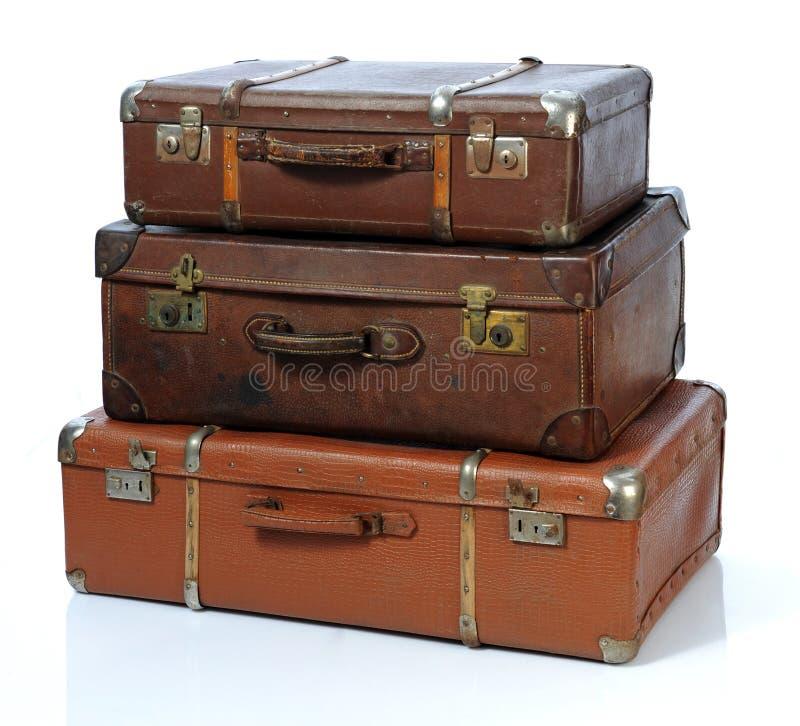 Free Vintage Suitcase Royalty Free Stock Image - 17338196