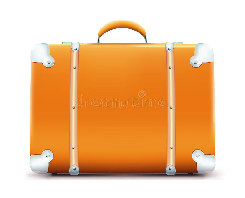 Vintage suitcase stock illustration