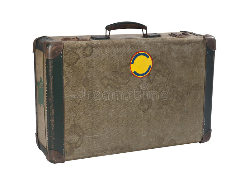 Download Vintage suitcase stock illustration. Image of knock, life - 22295708