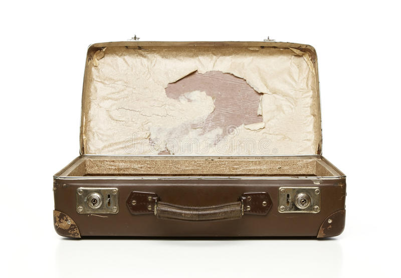 Download Vintage suitcase stock image. Image of retro, antique - 22456847