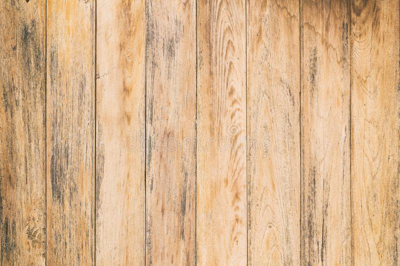 Vintage surface wood table and rustic grain texture background. stock images