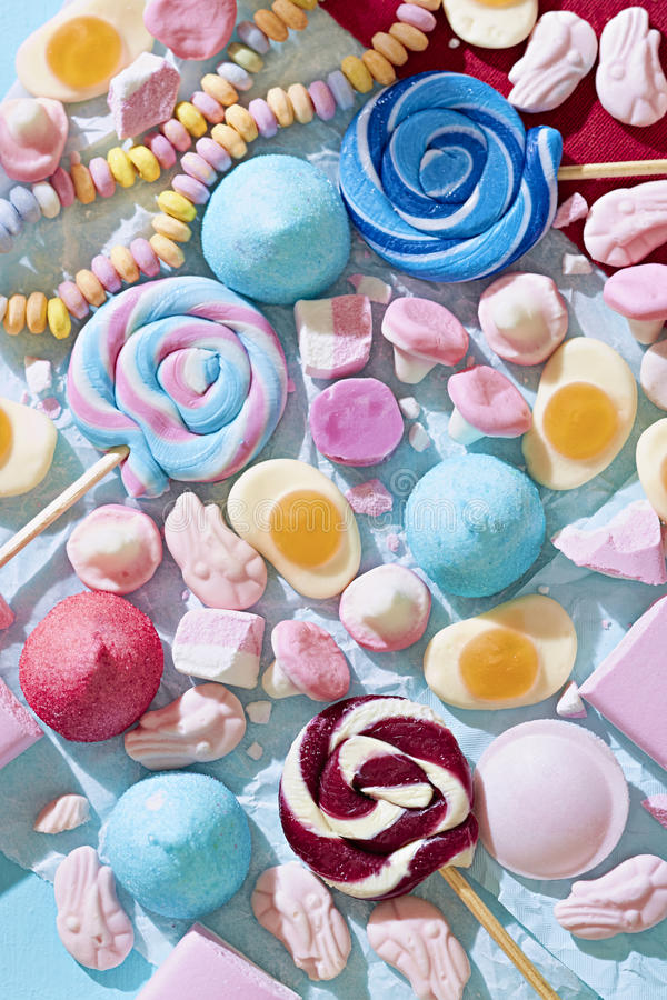 Vintage sweets royalty free stock photos