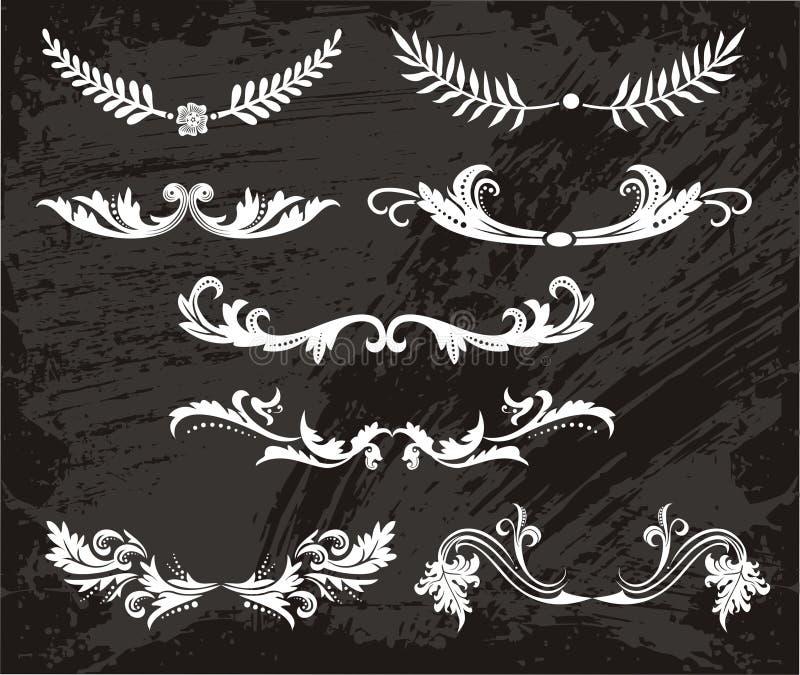 Download Vintage Symmetrical Patterns Stock Vector - Image: 23630193