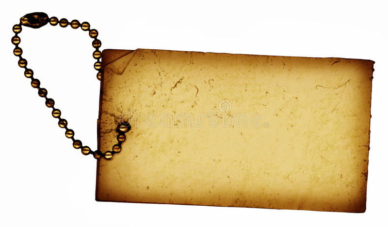 Download Vintage Tag stock photo. Image of sold, paper, grunge - 10404494