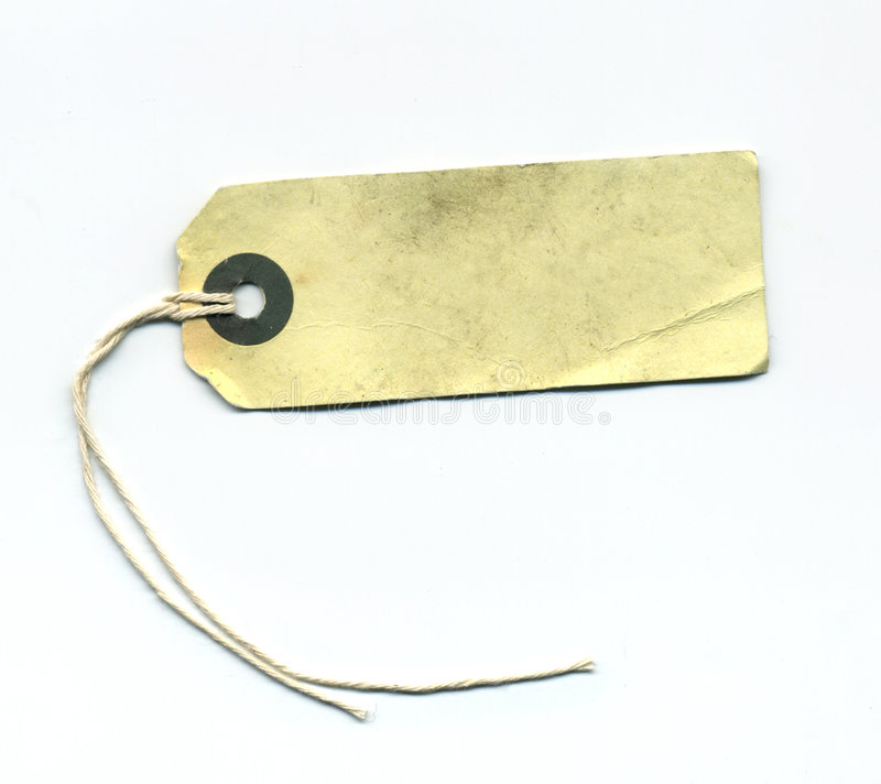 Download Vintage Tag stock photo. Image of worn, vintage, paper - 8069740