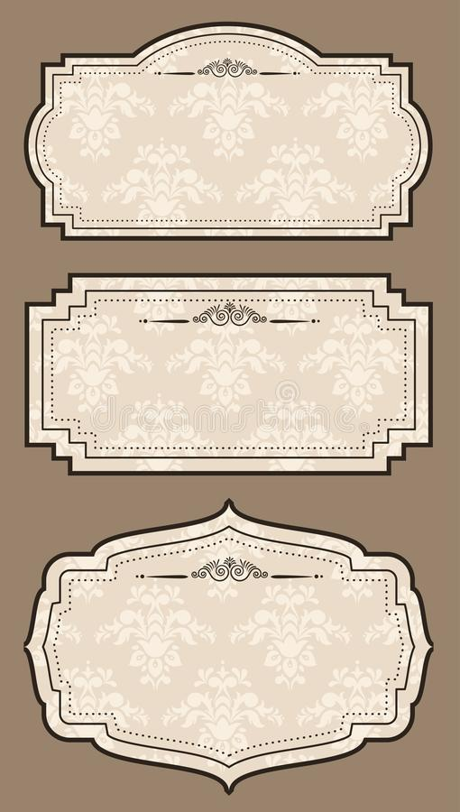 Download Vintage Tapestry Background. Stock Vector - Image: 21321615