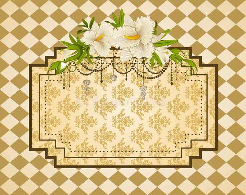 Download Vintage Tapestry Background. Stock Vector - Image: 21775316