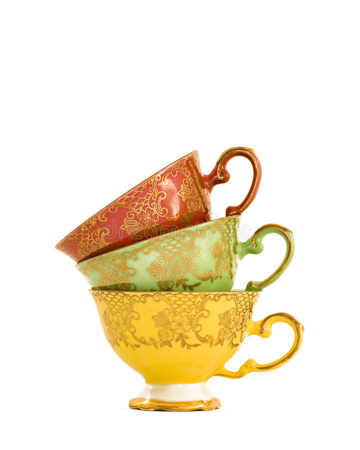 Free Vintage Teacups Royalty Free Stock Images - 14896179