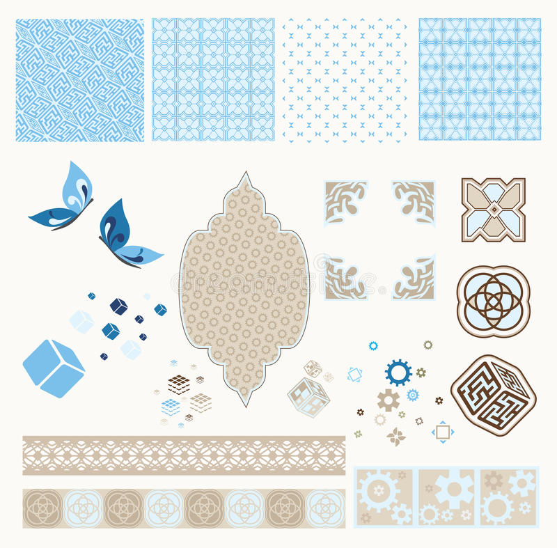 Download Vintage Technology Scrapbooking Kit Stock Vector - Illustration: 25521100
