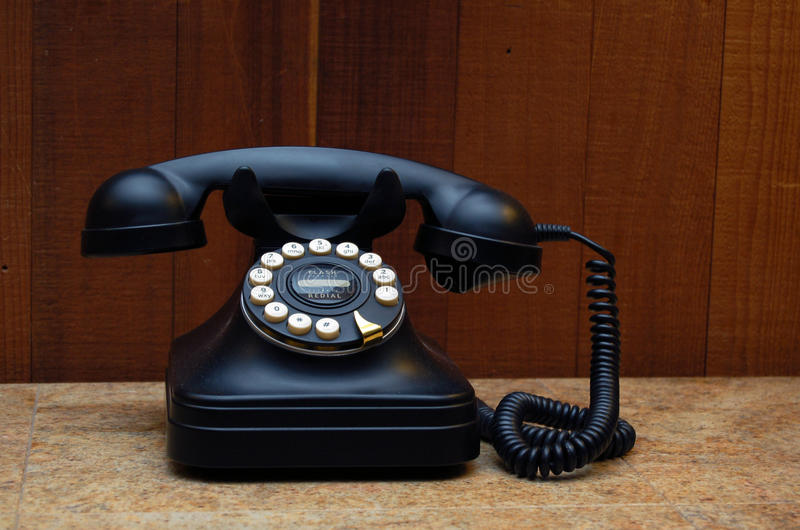 Download Vintage telephone stock photo. Image of antique, contact - 12134088