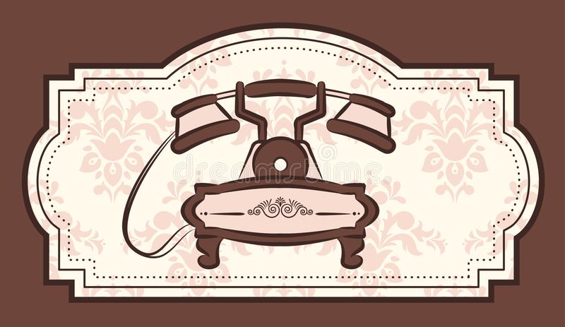 Vintage Telephone Royalty Free Stock Photo