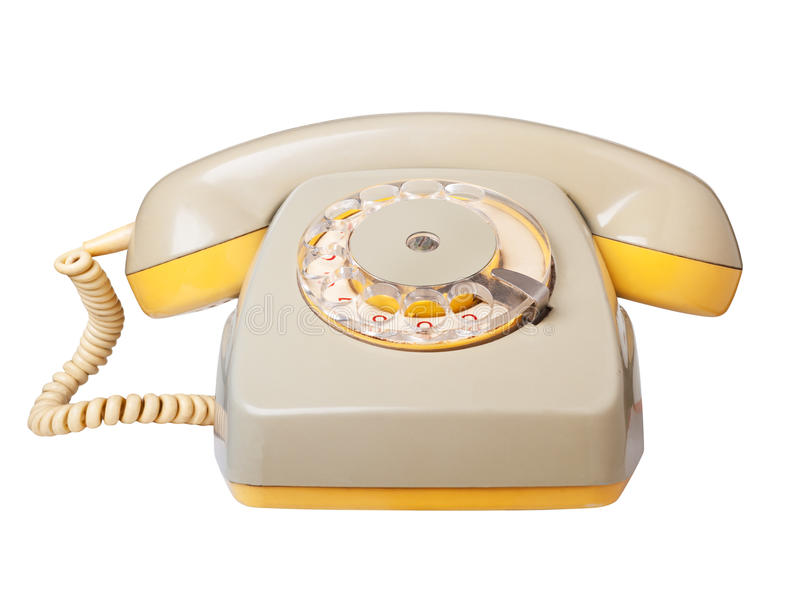 Download Vintage telephone. stock image. Image of classic, device - 23555523