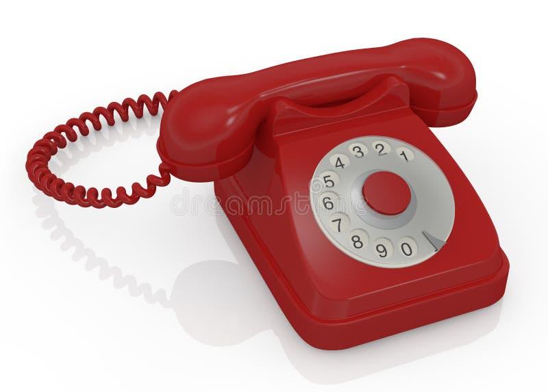 Download Vintage telephone stock illustration. Image of device - 26248938