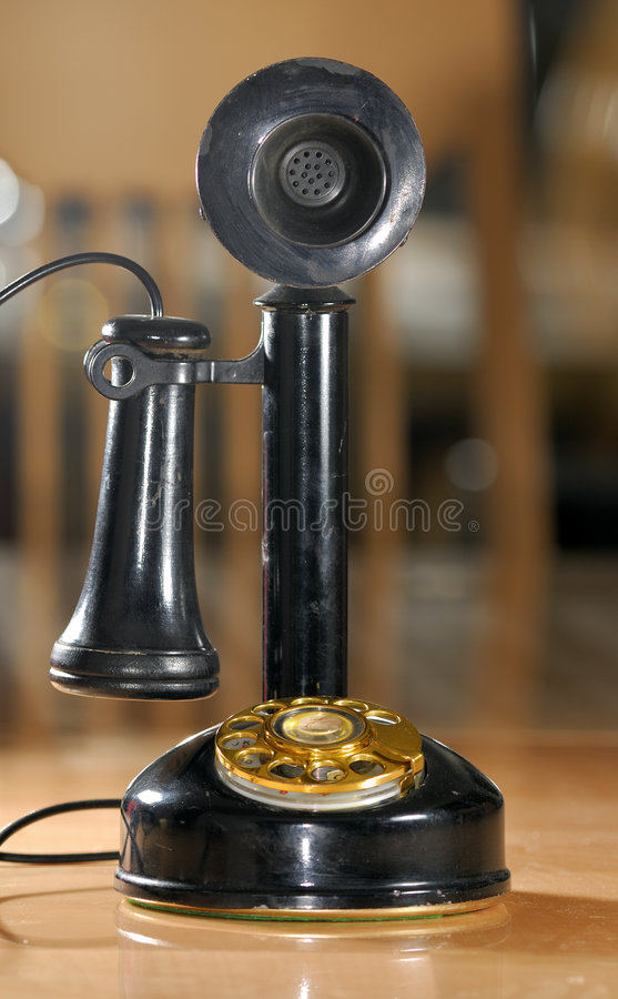 Download Vintage Telephone stock photo. Image of home, operator - 3452034