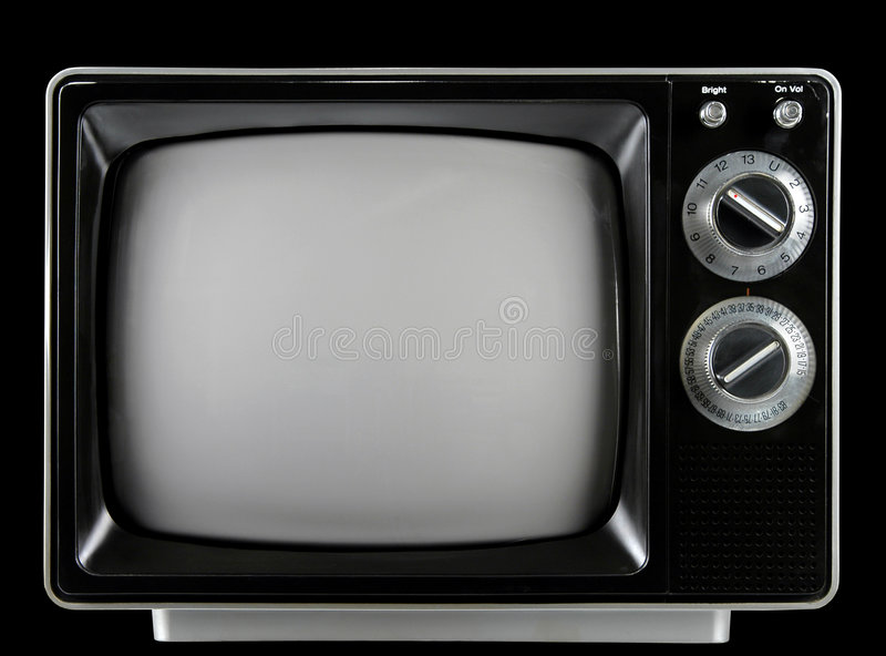 Download Vintage Television stock photo. Image of noise, analog - 2282166