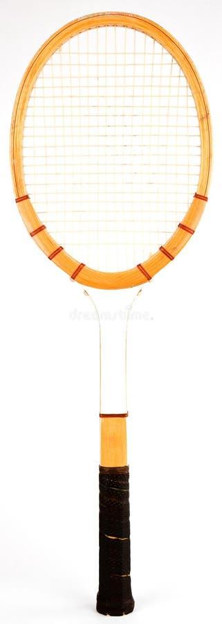 Vintage Tennis Racquet stock photos