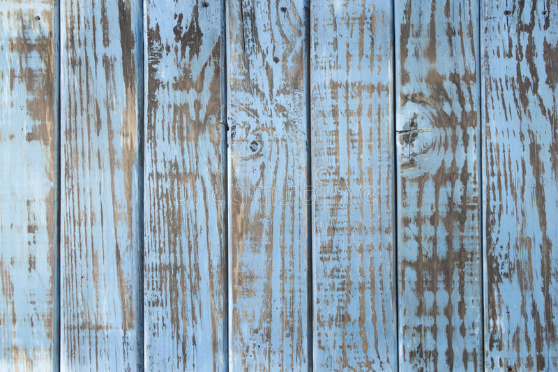 Vintage texture. Blue wooden boards worn by time stock images