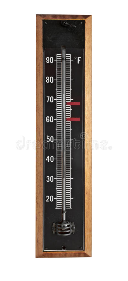 Free Vintage Thermometer Royalty Free Stock Images - 36743479