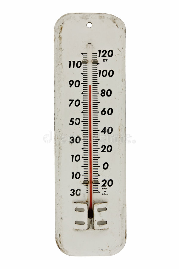 Free Vintage Thermometer Royalty Free Stock Image - 7185966