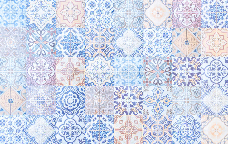 vintage tile texture royalty free stock image