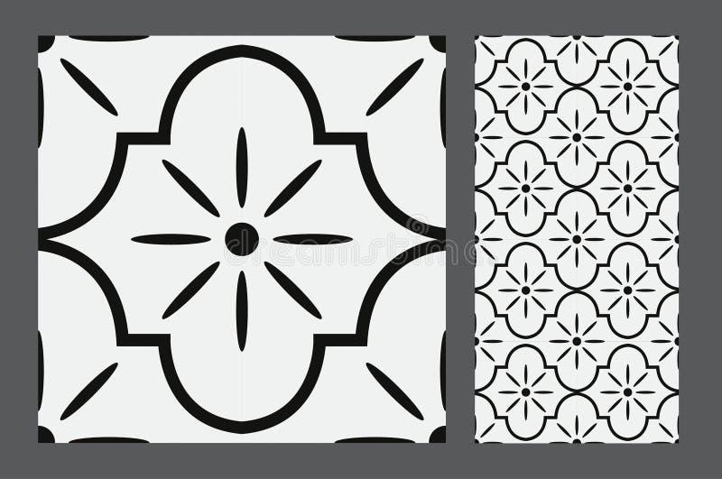 Vintage Tile Stock Vector Illustration Of Exterior