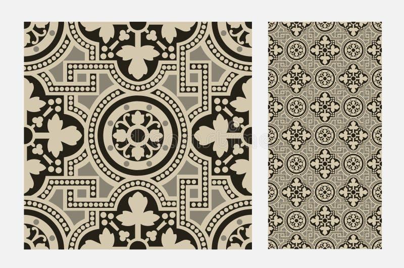 Vintage tile stock images