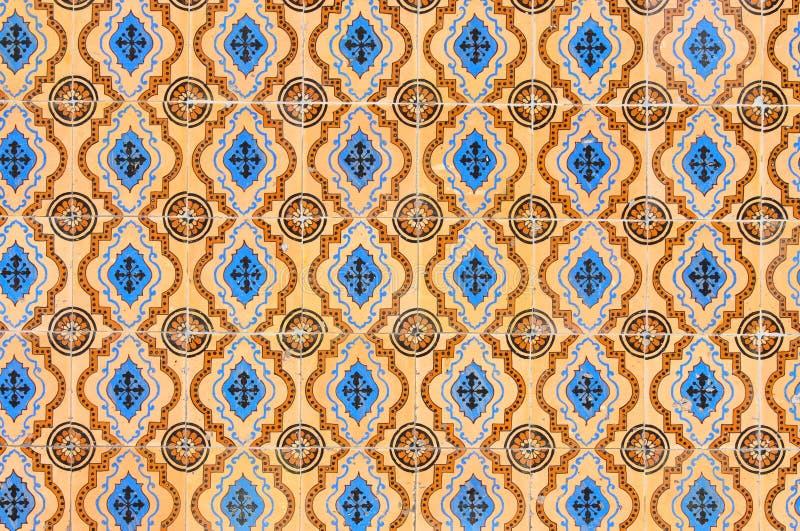 Vintage tiles royalty free stock photo
